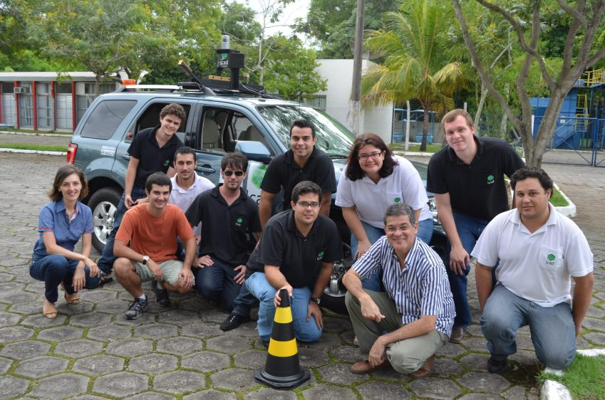 LCAD/UFES team and IARA autonomous vehicle